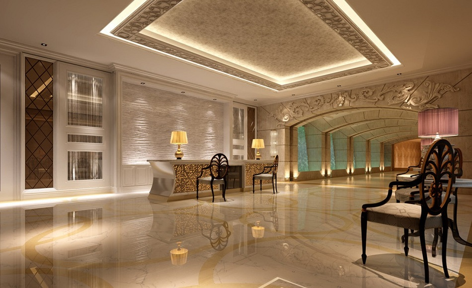 Lampade di tavolo per hotel