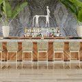 Modern bar stools for hotels