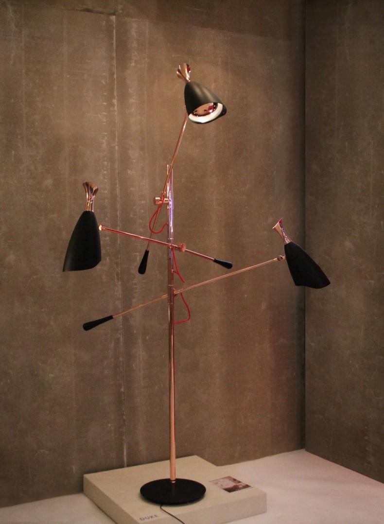 """""""DUKE floor lamp @Delighfull""""  IMM COLONIA 2014: PARTNERSHIP FRIGERIO & DELIGHTFULL IMM COLOGNE 2014 FRIGERIO DELIGHTFULL5"""