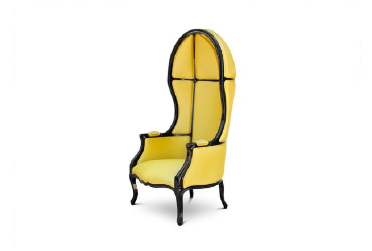 """""""Poltrona Namib, di Brabbu""""  Tendenze: arredare con il giallo Tendenze arredare con il giallo Brabbu Namib Armchair"""