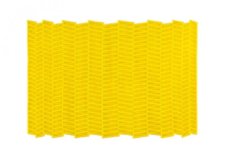 """""""Tappeto ZigZag, di Chevalier Edition""""  Tendenze: arredare con il giallo Tendenze arredare con il giallo Chevalier Edition Tappeto ZIGZAG"""