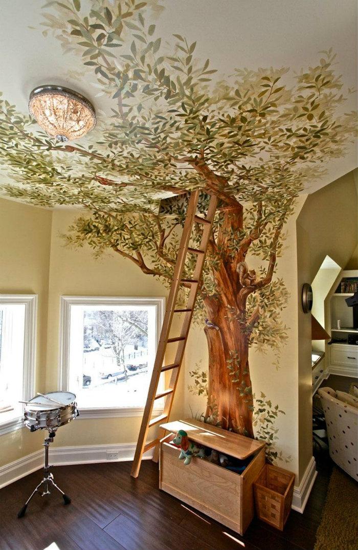 idee di design Sogni d'Oro: 10 Idee di design di camere da letto per bambini 1400053458 detskie komnaty 13