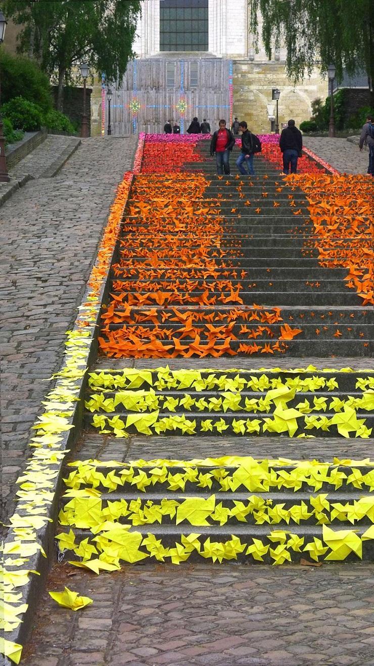 """""""17 delle più belle scale in tutto il mondo - Angers, France""""  Il nostro articolo più popolare - 17 delle più belle scale in tutto il mondo 17 delle pi   belle scale in tutto il mondo Angers France"""