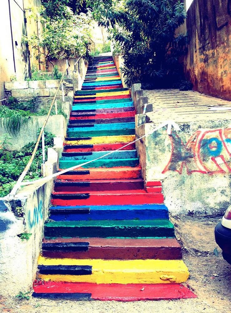 """""""17 delle più belle scale in tutto il mondo - Beirut, Lebanon""""  Il nostro articolo più popolare - 17 delle più belle scale in tutto il mondo 17 delle pi   belle scale in tutto il mondo Beirut Lebanon"""