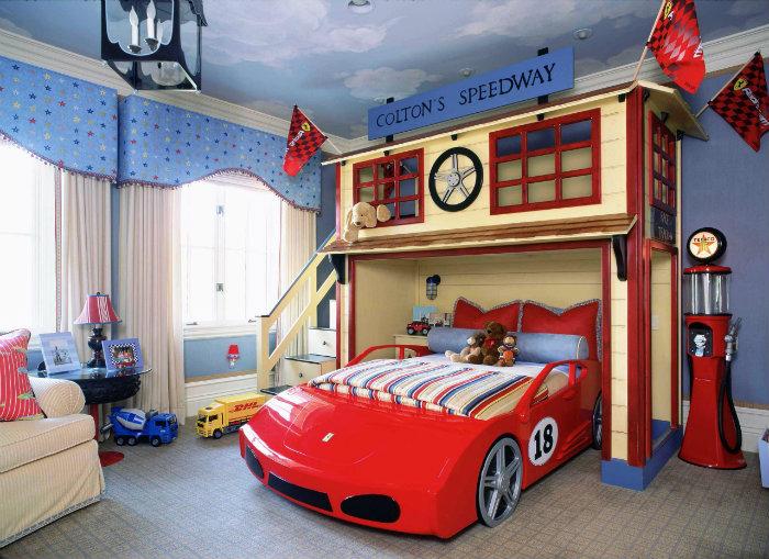 Idee di design idee di design Sogni d'Oro: 10 Idee di design di camere da letto per bambini c20710505e7a73c71c9d17a9e90ddbc4