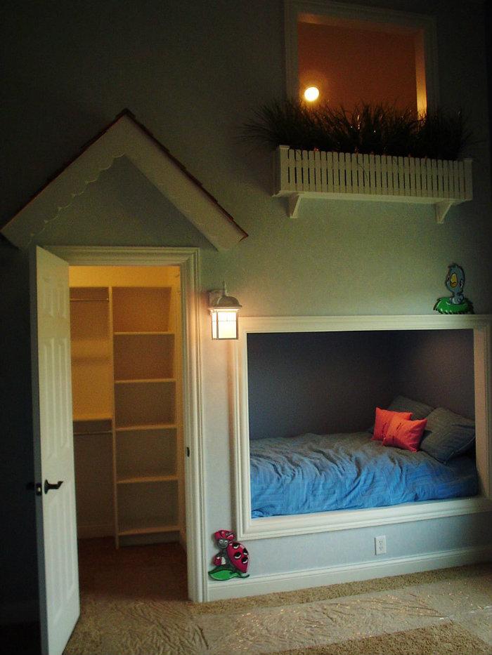 idee di design Sogni d'Oro: 10 Idee di design di camere da letto per bambini children rooms creative ideas interior design 15