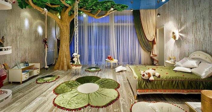 Sogni d'Oro: 10 Idee di design di camere da letto per bambini idee di design Sogni d'Oro: 10 Idee di design di camere da letto per bambini dormitorio tematico infantil 1