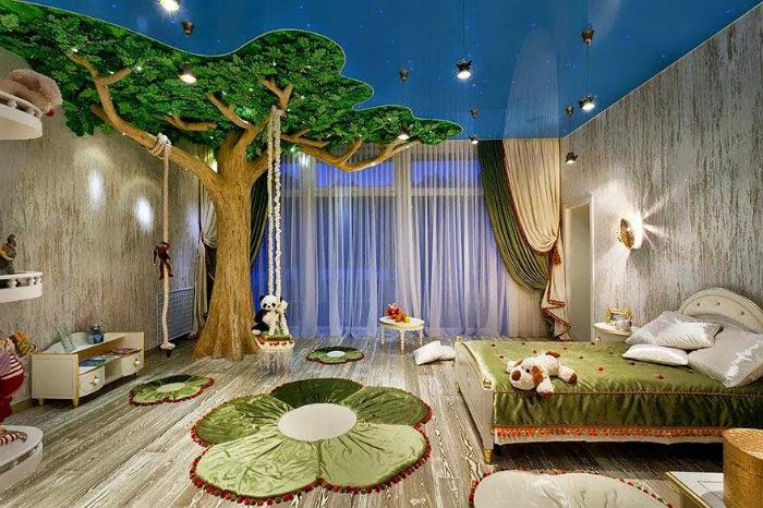 idee di design Sogni d'Oro: 10 Idee di design di camere da letto per bambini dormitorio tematico infantil