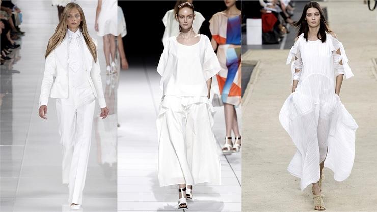 """""""Tendenze: tutti in bianco - Ralph Lauren, Issey Miyake e Chloé""""  Tendenze: tutti in bianco Ralph Lauren Issey Miyake e Chlo"""