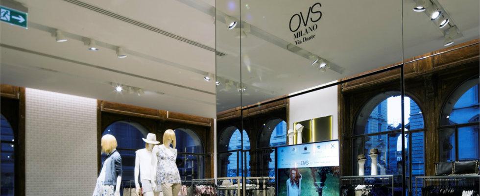 """""""Shopping di Lusso: Ila nuova boutique OVS a Milano""""  Shopping di Lusso: La nuova boutique OVS a Milano Shopping Milan guide at via Dante OVS new flagship store 2"""
