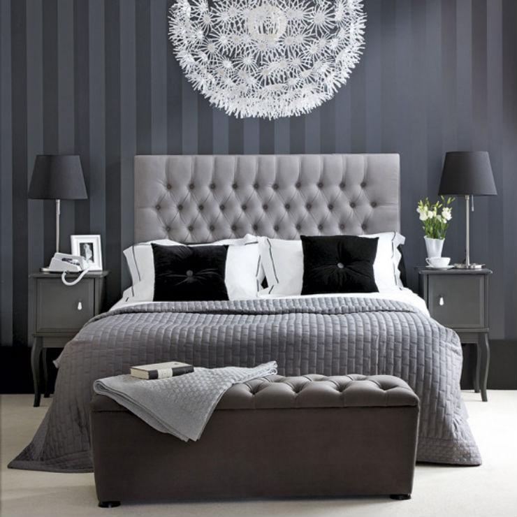 Camere da letto in stile Cinquanta Sfumature di Grigio camere da letto Camere da letto in stile Cinquanta Sfumature di Grigio Cinquanta Sfumature di Grigio decor della camera letto ispirata al film grigio2