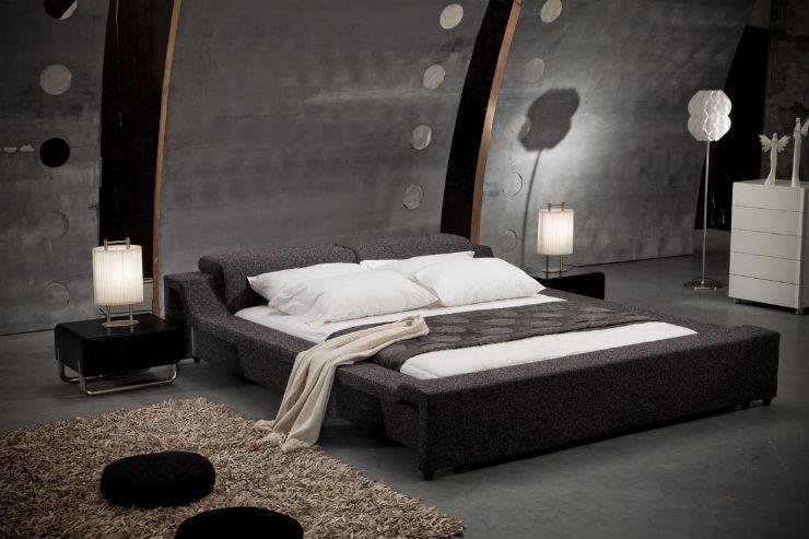 Camere da letto in stile Cinquanta Sfumature di Grigio camere da letto Camere da letto in stile Cinquanta Sfumature di Grigio Cinquanta Sfumature di Grigio decor della camera letto ispirata al film grigio4