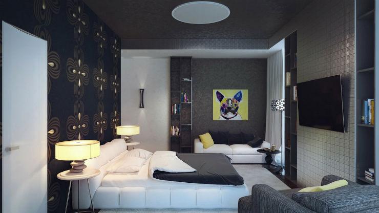 Camere da letto in stile Cinquanta Sfumature di Grigio camere da letto Camere da letto in stile Cinquanta Sfumature di Grigio Cinquanta Sfumature di Grigio decor della camera letto ispirata al film grigio5