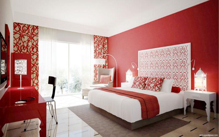 Camere da letto in stile cinquanta sfumature di grigio for Idee per abbellire la camera
