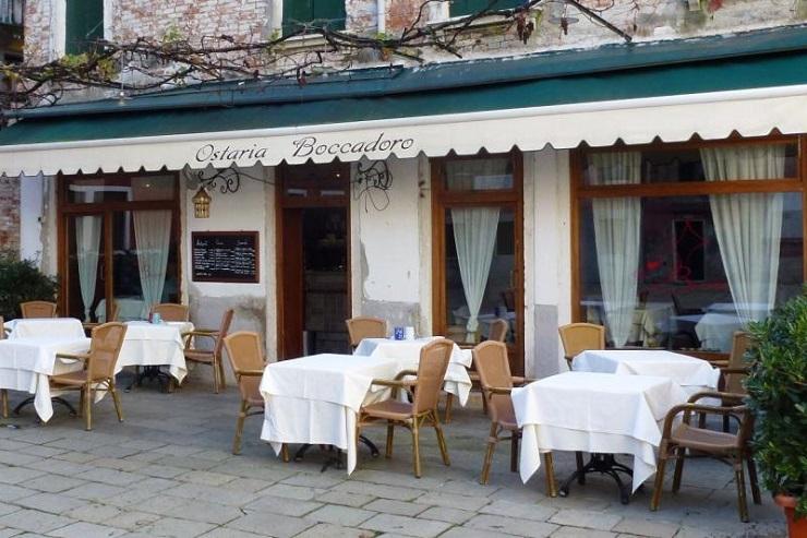 Guida turistica: Spazi di lusso a Venezia - Osteria Boccadoro  Guida turistica: Spazi di lusso a Venezia Best Design Guides Venice Osteria Boccadoro