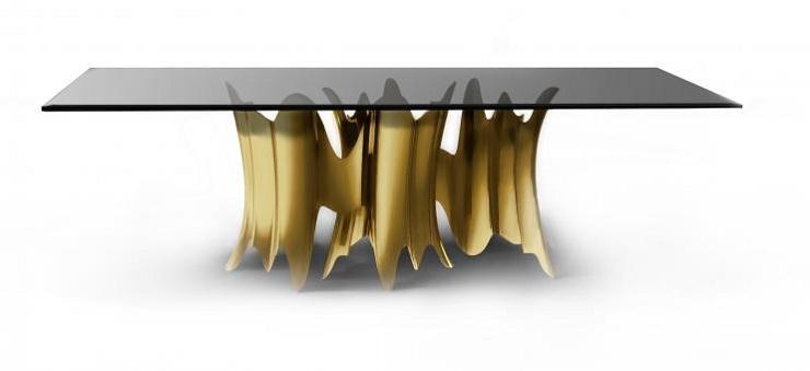 Design: i più belli tavoli da pranzo  Spazi di Lusso