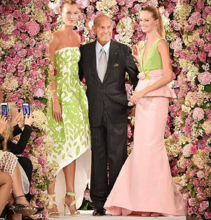 Il leggendario stilista Oscar de la Renta muore ai 82 - 1  Il leggendario stilista Oscar de la Renta muore ai 82 Il leggendario stilista Oscar de la Renta muore ai 82 1
