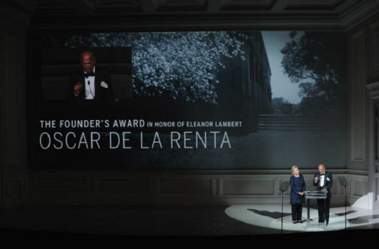 Il leggendario stilista Oscar de la Renta muore ai 82 - 7  Il leggendario stilista Oscar de la Renta muore ai 82 Il leggendario stilista Oscar de la Renta muore ai 82 7