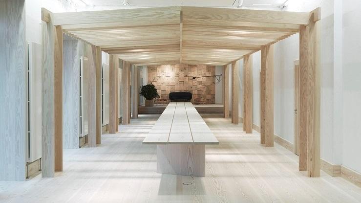 Copenhagen OeO Studio –  Uno Showroom Interamente in Legno spazi2 C  pia  CONTATTACI spazi2 C C3 B3pia