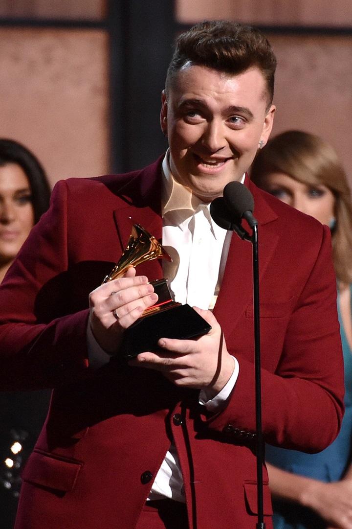 Il Meglio dei Grammy Awards 2015  Il Meglio dei Grammy Awards 2015 sam smith 2
