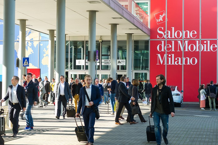 Introduzione alla 50ª edizione del Salone del Mobile  Introduzione alla 50ª edizione del Salone del Mobile salone3