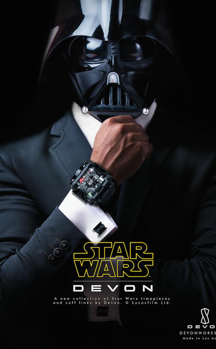 il nuovo orologio di-devons che le forza sia con te Stars Wars  Il nuovo orologio di Devon's - Che le forza sia con te il nuovo orologio di devons che le forza sia con te Stars Wars