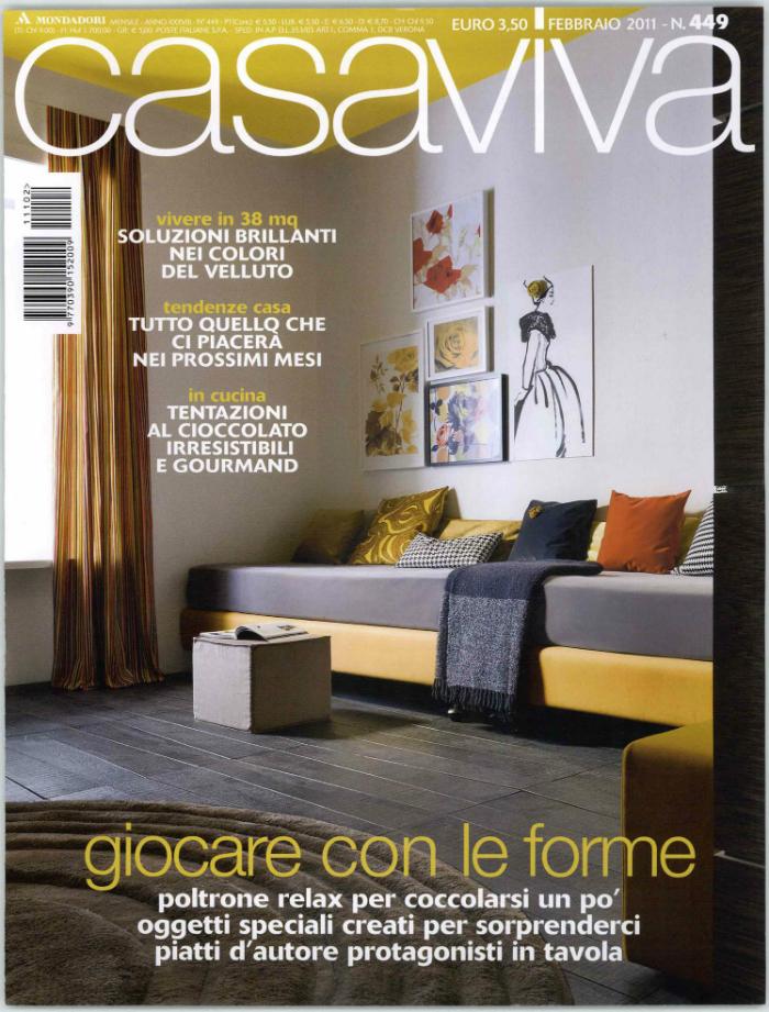 Le 50 migliori riviste italiane di architettura e design for Riviste per la casa