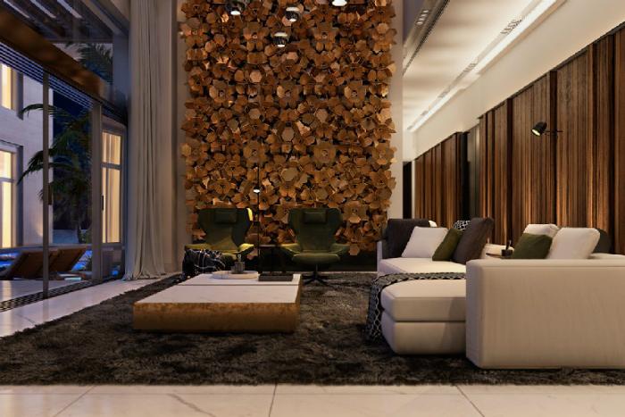 una casa contemporanea in italia con ottone e dettagli di marmo interiori di casa  Una casa contemporanea in Italia, con ottone e dettagli di marmo una casa contemporanea in italia con ottone e dettagli di marmo interiori di casa