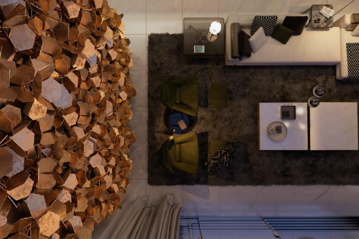 una casa contemporanea in italia con ottone e dettagli di marmo interiori e design  Una casa contemporanea in Italia, con ottone e dettagli di marmo una casa contemporanea in italia con ottone e dettagli di marmo interiori e design