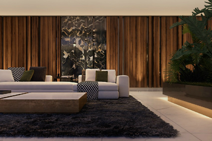 una casa contemporanea in italia con ottone e dettagli di marmo spazi di lusso  Una casa contemporanea in Italia, con ottone e dettagli di marmo una casa contemporanea in italia con ottone e dettagli di marmo spazi di lusso