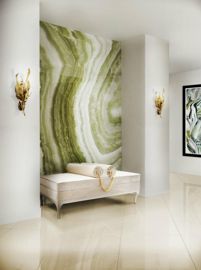Idee per rivestire le pareti con nuovi materiali e colori - Idee per colorare le pareti ...