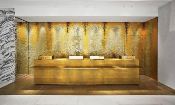 Idee per rivestire le pareti con nuovi materiali e colori - Colori pareti casa ...