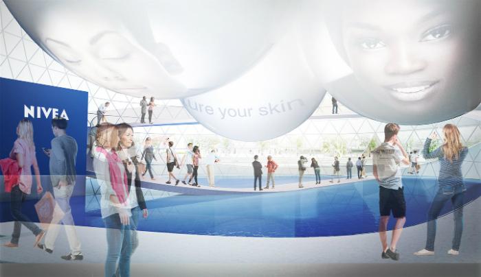 matteo-thun-partners-progetta-primo-negozio-nivea-contemporaneo NIVEA Matteo Thun & Partners Progetta Il Primo Negozio NIVEA matteo thun partners progetta primo negozio nivea contemporaneo