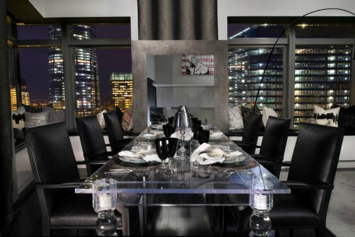 Sala da Pranzo Lusso ispirazioni di interior design Ispirazioni di Interior Design - Una Sala Da Pranzo Elegante DSC2459