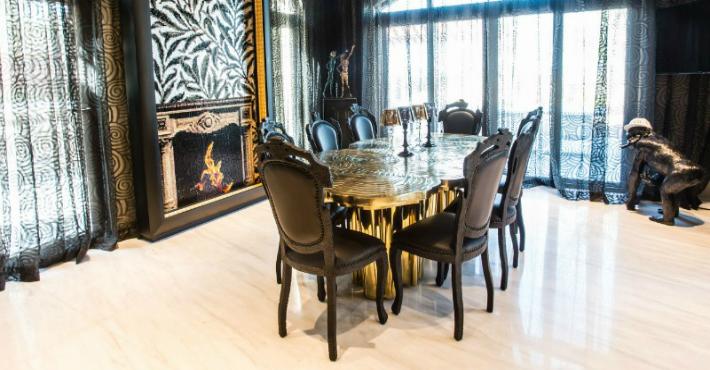 Ispirazioni di interior design una sala da pranzo for Sala pranzo design