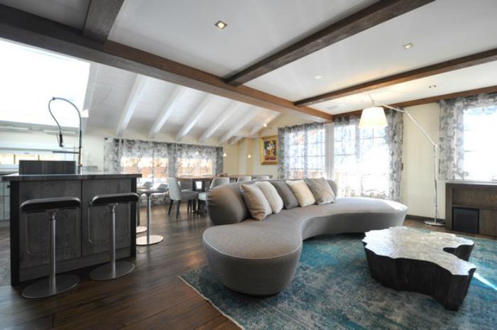 Eden Tavolo Ottone  ispirazioni di interior design Ispirazioni di Interior Design - Una Sala Da Pranzo Elegante Gerignoz livingroom4