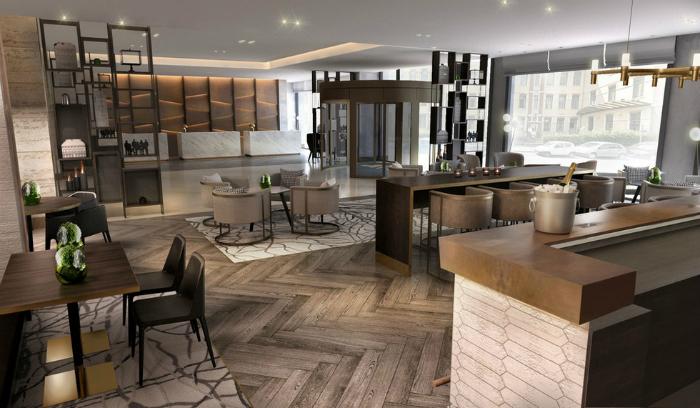 Design d'Italia HOTEL MILANO I MIGLIORI HOTEL MILANO - HILTON HOTEL A VIA GALVANI migliori hotel milano hilton hotel galvani 4