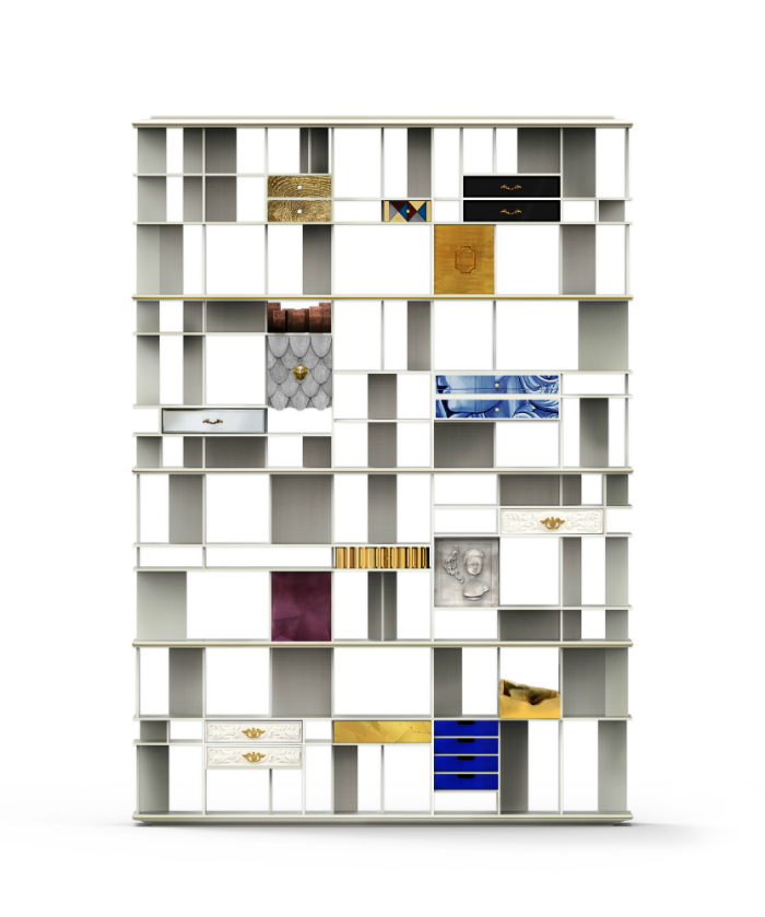 coleccionista-custom-bookcase-shelf-01 esperienza gastronomica Un'Esperienza Gastronomica Di Lusso A San Pietroburgo coleccionista custom bookcase shelf 01