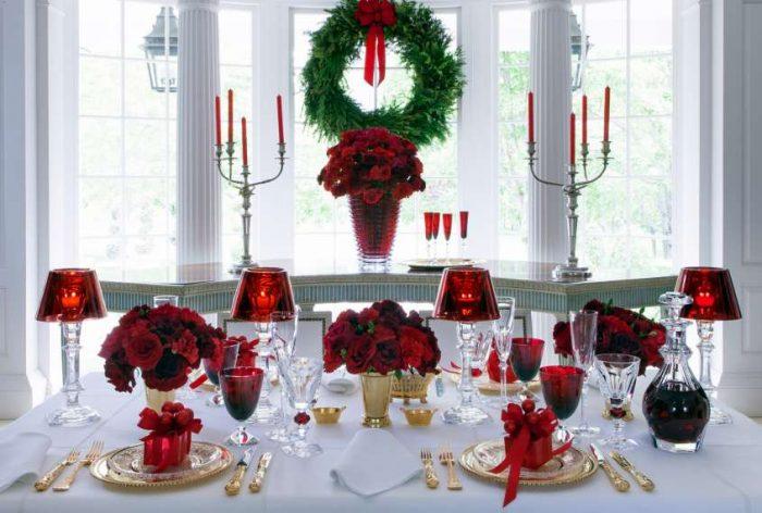 Idee d'arredo natalizie last minute idee d'arredo Idee d'arredo natalizie last minute baccarat servizio tavola e1482341732482