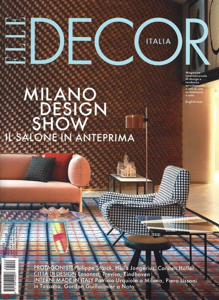 Le migliori riviste statunitensi di architettura e design architettura e design Le migliori riviste statunitensi di architettura e design Copertina Elle Decor 04 2016 1180