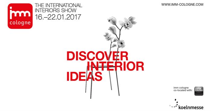 IMM 2017, il salone internazionale del mobile a Colonia