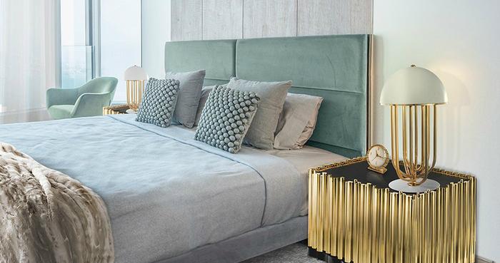 25 camere da letto moderne spazi di lusso for Camere da letto moderne marche