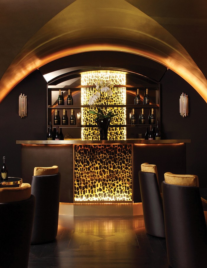 25 idee d arredo per un ristorante moderno spazi di lusso for Idee di arredamento moderno