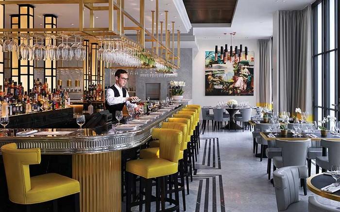 Souvent 25 Idee d'arredo per un ristorante moderno | Spazi di Lusso | Page 4 ZD19