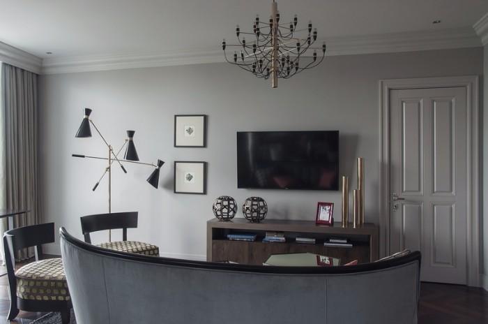 Un appartamento art déco contemporaneo a Kiev