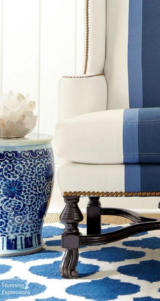 5 consigli d arredo per un salotto blu spazi di lusso for Consigli d arredo