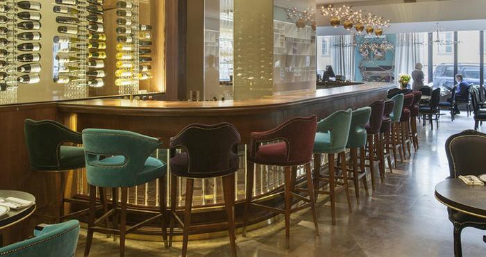 25 idee d arredamento per hotel spazi di lusso for Arredamento hotel lusso