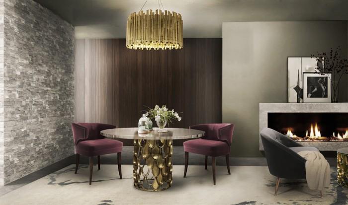 25 idee per la vostra sala da pranzo moderna spazi di lusso - Lampadario sala da pranzo moderna ...