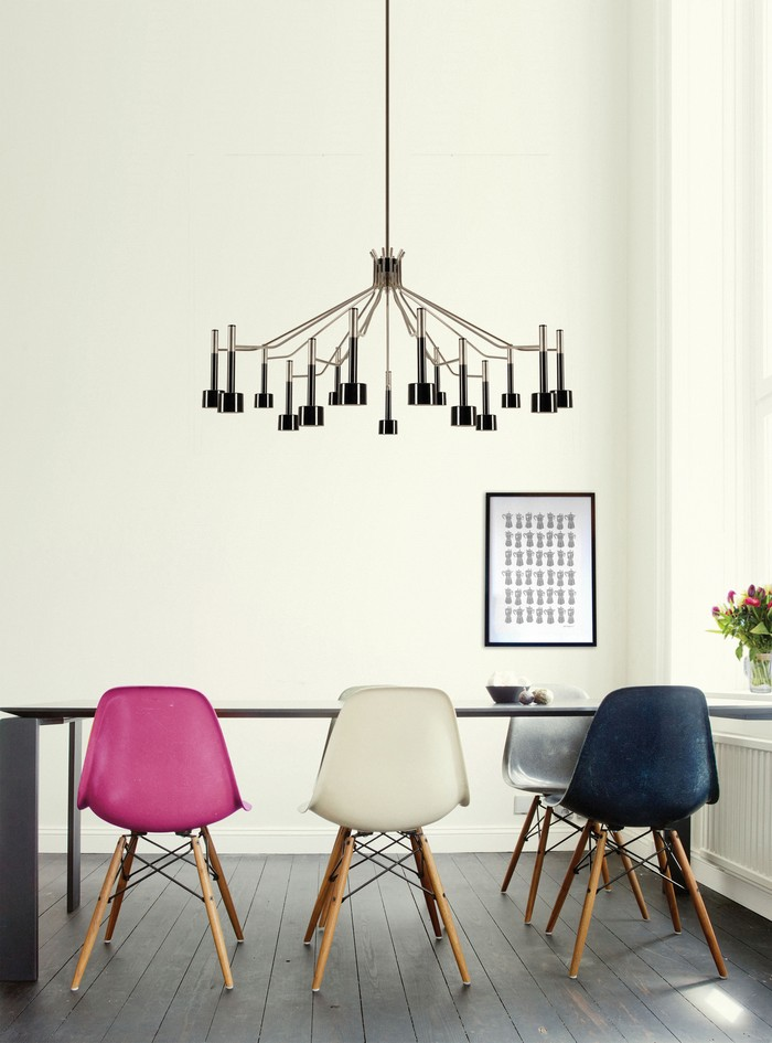 25 idee per la vostra sala da pranzo moderna spazi di for Sala pranzo moderna