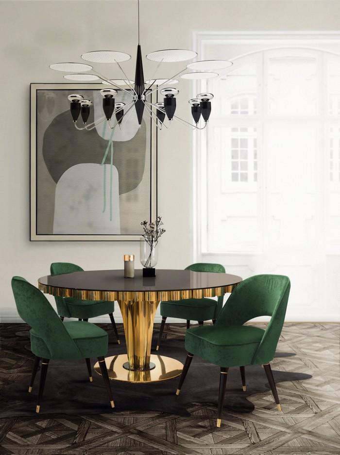 25 idee per la vostra sala da pranzo moderna spazi di lusso page 22 - Paul signac la sala da pranzo ...
